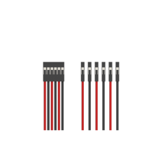 6pins JWT 30cm 24AWG Silicone Cable